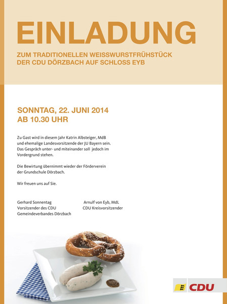Einladung Zum Frühstück Text - Vorlagen